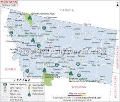 Mississippi national parks images Montana national parks map jpg