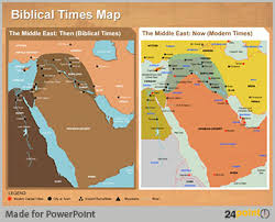 middle east map ppt getting creative with infographic map powerpoint design services