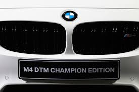 vwvortex com bmw m4 dtm champion edition revealed celebrates