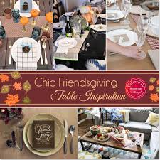 Thanksgiving Table Ideas by Simple And Chic Friendsgiving Tables 10 Inspiring Ideas