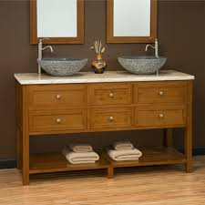 60 Inch Double Sink Bathroom Vanities by Bathroom Perfect Double Vessel Sink Bathroom Vanity With Storage