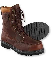 men u0027s gore tex kangaroo upland boots moc toe leather insulated