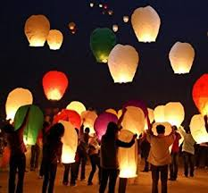 candle balloon sky lantern paper lamp light wish candle light parachute hot