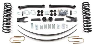 jeep comanche lifted zone offroad products 4 5