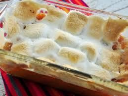 sweet potato yam casserole with marshmallows recipe yam