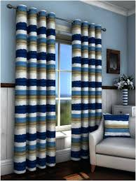 Blue And Striped Curtains Blue Striped Curtains Custom Blue White Striped Nautical Curtains