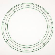 wreath forms 18 inch large green wire frame metal wreath forms