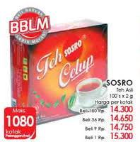 Teh Kotak Sosro 330ml promo harga teh botol sosro minuman ringan terbaru minggu ini hemat id