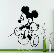 mickey mouse decal mickey mouse ears wall decal mickey mouse ears mickey mouse bedroom wall stickers mickey mouse poster wall sticker cartoon vinyl decal home kids