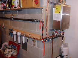 ideas dazzling tankless water heater installation design for home