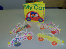 time for preschool crafts crafts for the book my car