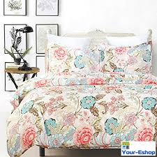 What Size Is King Size Duvet Cover Catherine Lansfield Duck Egg Blue Floral Canterbury King Size