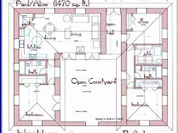 center courtyard house plans u shaped house plans with courtyard best of center courtyard house