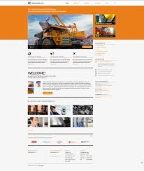 industrial company wordpress theme 45160