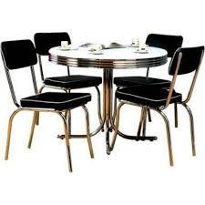 Retro Kitchen Table Sets Yellow Retro Kitchen Table Chairs Home Design Ideas