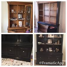 update to my ugly hutch step 1 remove doors and hardware step 2