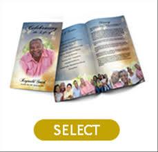 Where To Print Funeral Programs Print Local Premium Designs