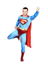 deluxe female superman full body spandex lycra black zentai