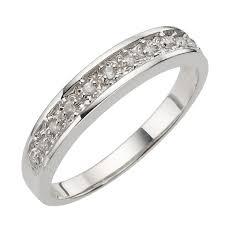 white gold eternity ring 9ct white gold pave set diamond eternity ring h samuel