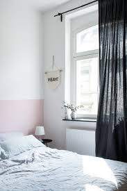 Schlafzimmer Neue Farbe Eine Rosa Wand Für Das Schlafzimmer Neue Bettwäsche Aus Leinen