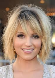 hairstyles short on an angle towards face and back 16 best hairstyles that flatter a long face shag hairstyles