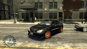 modded subaru impreza gta gaming archive