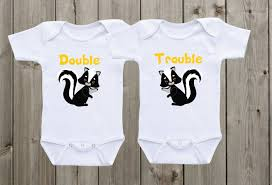 gender neutral gifts double trouble twin matching twin shirts twin onesies