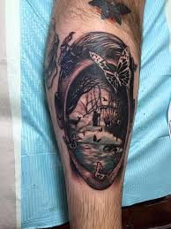 cover art of bazaar of bad dreams by stephen king tattoo done by