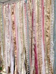 Shabby Chic Nursery Curtains by Shabby Rustic Chic Boho Fabric Garland Backdrop By Ohmycharley