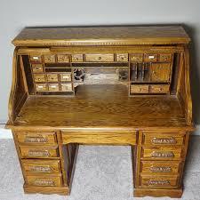 riverside roll top desk oak creek by riverside roll top desk ebth