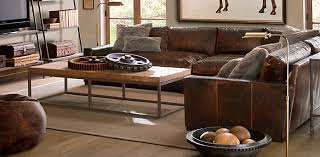restoration hardware maxwell leather sofa man cave really loving the worn out look maxwell leather