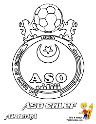 coloring soccer caf african world cup free soccer printables