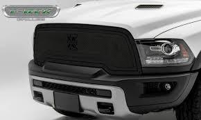 Dodge Ram All Black - stealth metal grilles