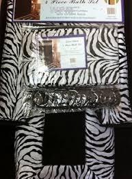 Zebra Print Bathroom Rugs Beautiful Black And White Shower Curtains Phenomenal Gift Ideas