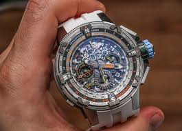 Nautical Themed Watches - richard mille rm 60 01 automatic flyback chronograph regatta u0027les