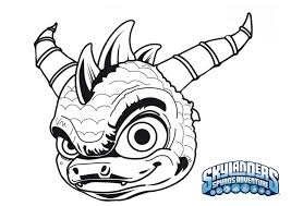 skylander coloring pages printable