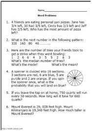 practice your math skills with these 7th grade word problems