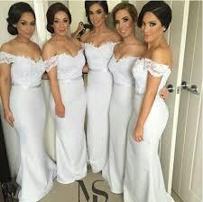 lace bridesmaid dresses bridesmaid dress white bridesmaid dress cheap bridesmaid