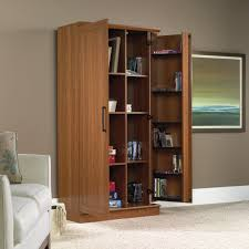 sauder homeplus four shelf storage cabinet storage cabinet with doors commercial the home redesign