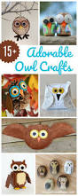 15 adorable owl crafts to make with kids painted rock owls