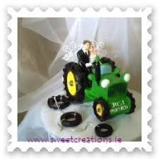 tractor wedding cake topper green tractor wedding cake topper