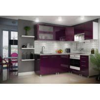 cuisine aubergine meuble de cuisine aubergine meuble bas de cuisine porte