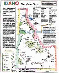 Rocky Mountain States Map Idaho Map Maps For The Classroom
