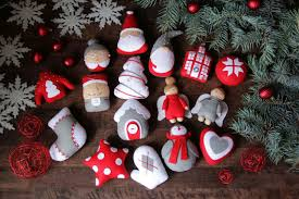felt ornaments felt christmas ornaments felt ornaments set christmas set of