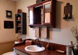 primitive decorating ideas for bathroom inspiring primitive country bathroom decor ideas luxurious country
