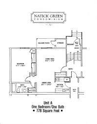 green plans floor plans natick green condominium