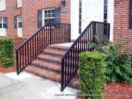 Porch Steps Handrail Metal Porch Railings Rod Iron Porch Railings Rails Cable