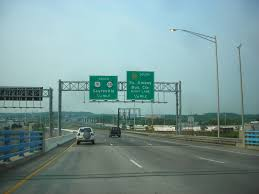Garden State Parkway Map File Us Route 9 In New Jersey At Route 35 And The Garden State