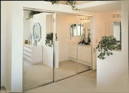 Closet With Mirror Doors Uses Of Mirror Closet Doors Interior Doors And Closets