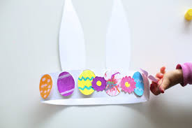 easter bunny hat bunny hat easter crafts for kids with